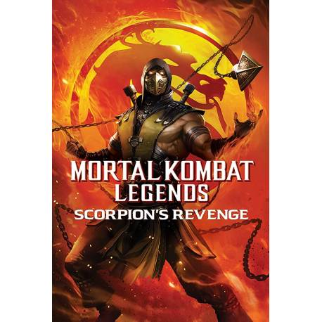 MORTAL KOMBAT: LA VENGANZA DEL ESCORPION -DVD Y USB-