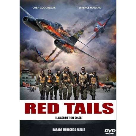 RED TAILS -DVD Y USB-